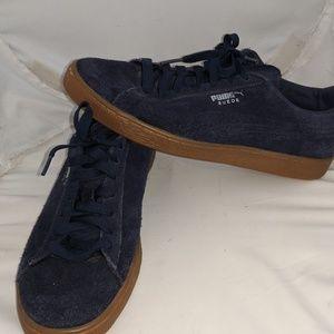 Suede Puma Skate Shoes